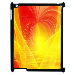 Realm Of Dreams Light Effect Abstract Background Apple iPad 2 Case (Black)