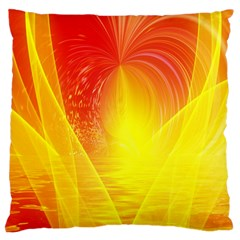 Realm Of Dreams Light Effect Abstract Background Large Cushion Case (One Side)