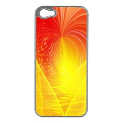 Realm Of Dreams Light Effect Abstract Background Apple iPhone 5 Case (Silver)