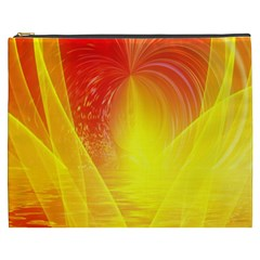 Realm Of Dreams Light Effect Abstract Background Cosmetic Bag (XXXL)