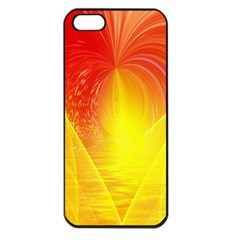 Realm Of Dreams Light Effect Abstract Background Apple Iphone 5 Seamless Case (black)