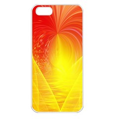 Realm Of Dreams Light Effect Abstract Background Apple iPhone 5 Seamless Case (White)