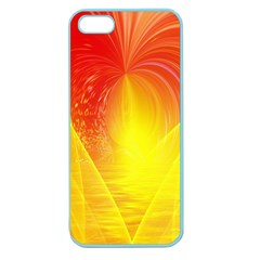 Realm Of Dreams Light Effect Abstract Background Apple Seamless Iphone 5 Case (color)