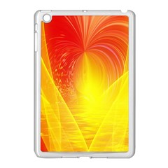 Realm Of Dreams Light Effect Abstract Background Apple iPad Mini Case (White)