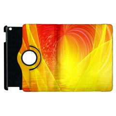 Realm Of Dreams Light Effect Abstract Background Apple Ipad 2 Flip 360 Case