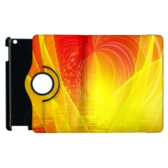 Realm Of Dreams Light Effect Abstract Background Apple Ipad 3/4 Flip 360 Case