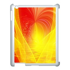 Realm Of Dreams Light Effect Abstract Background Apple iPad 3/4 Case (White)
