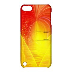 Realm Of Dreams Light Effect Abstract Background Apple iPod Touch 5 Hardshell Case with Stand