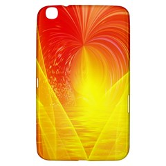 Realm Of Dreams Light Effect Abstract Background Samsung Galaxy Tab 3 (8 ) T3100 Hardshell Case
