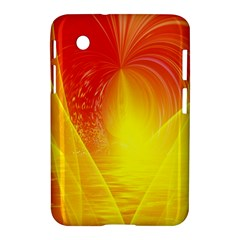 Realm Of Dreams Light Effect Abstract Background Samsung Galaxy Tab 2 (7 ) P3100 Hardshell Case