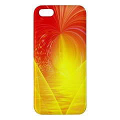 Realm Of Dreams Light Effect Abstract Background iPhone 5S/ SE Premium Hardshell Case