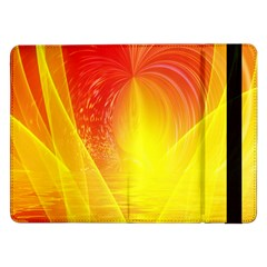 Realm Of Dreams Light Effect Abstract Background Samsung Galaxy Tab Pro 12.2  Flip Case