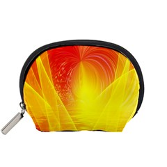 Realm Of Dreams Light Effect Abstract Background Accessory Pouches (Small)