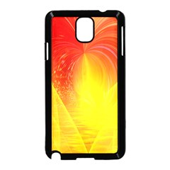 Realm Of Dreams Light Effect Abstract Background Samsung Galaxy Note 3 Neo Hardshell Case (Black)