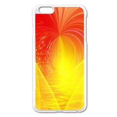 Realm Of Dreams Light Effect Abstract Background Apple iPhone 6 Plus/6S Plus Enamel White Case