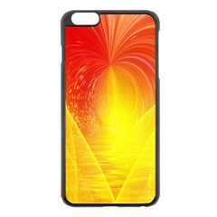 Realm Of Dreams Light Effect Abstract Background Apple iPhone 6 Plus/6S Plus Black Enamel Case