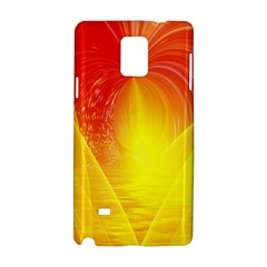 Realm Of Dreams Light Effect Abstract Background Samsung Galaxy Note 4 Hardshell Case