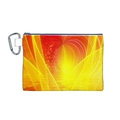 Realm Of Dreams Light Effect Abstract Background Canvas Cosmetic Bag (M)