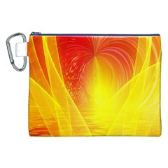 Realm Of Dreams Light Effect Abstract Background Canvas Cosmetic Bag (xxl)