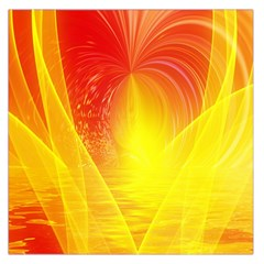 Realm Of Dreams Light Effect Abstract Background Large Satin Scarf (Square)