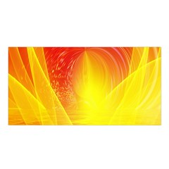 Realm Of Dreams Light Effect Abstract Background Satin Shawl
