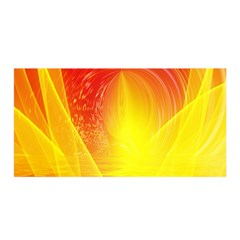 Realm Of Dreams Light Effect Abstract Background Satin Wrap