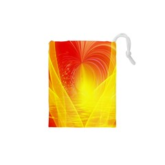 Realm Of Dreams Light Effect Abstract Background Drawstring Pouches (XS)
