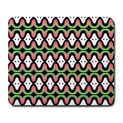 Abstract Pinocchio Journey Nose Booger Pattern Large Mousepads