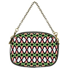 Abstract Pinocchio Journey Nose Booger Pattern Chain Purses (two Sides)