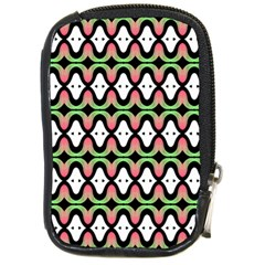 Abstract Pinocchio Journey Nose Booger Pattern Compact Camera Cases