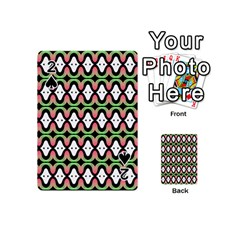 Abstract Pinocchio Journey Nose Booger Pattern Playing Cards 54 (mini)