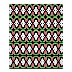Abstract Pinocchio Journey Nose Booger Pattern Shower Curtain 60  X 72  (medium)