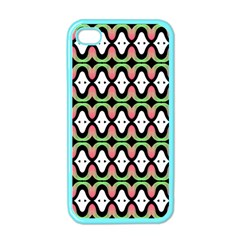 Abstract Pinocchio Journey Nose Booger Pattern Apple iPhone 4 Case (Color)