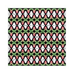 Abstract Pinocchio Journey Nose Booger Pattern Acrylic Tangram Puzzle (6  x 6 )