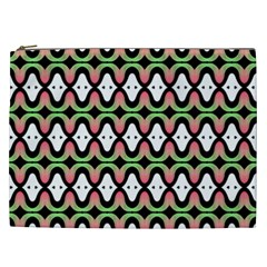 Abstract Pinocchio Journey Nose Booger Pattern Cosmetic Bag (XXL)