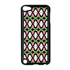 Abstract Pinocchio Journey Nose Booger Pattern Apple Ipod Touch 5 Case (black)