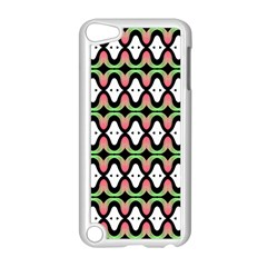 Abstract Pinocchio Journey Nose Booger Pattern Apple Ipod Touch 5 Case (white)