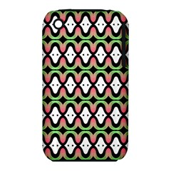 Abstract Pinocchio Journey Nose Booger Pattern iPhone 3S/3GS
