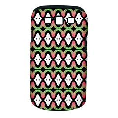 Abstract Pinocchio Journey Nose Booger Pattern Samsung Galaxy S III Classic Hardshell Case (PC+Silicone)