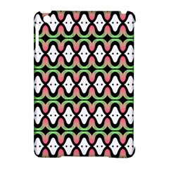 Abstract Pinocchio Journey Nose Booger Pattern Apple iPad Mini Hardshell Case (Compatible with Smart Cover)