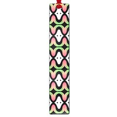 Abstract Pinocchio Journey Nose Booger Pattern Large Book Marks