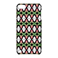 Abstract Pinocchio Journey Nose Booger Pattern Apple Ipod Touch 5 Hardshell Case With Stand