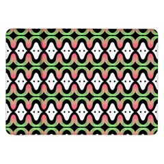 Abstract Pinocchio Journey Nose Booger Pattern Samsung Galaxy Tab 8.9  P7300 Flip Case