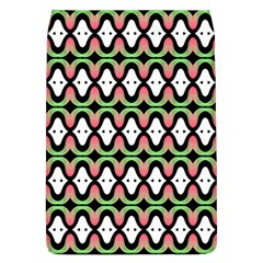 Abstract Pinocchio Journey Nose Booger Pattern Flap Covers (L)