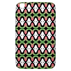 Abstract Pinocchio Journey Nose Booger Pattern Samsung Galaxy Tab 3 (8 ) T3100 Hardshell Case