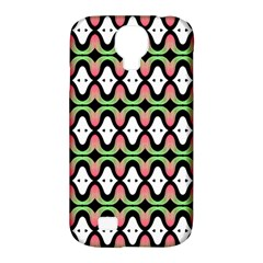 Abstract Pinocchio Journey Nose Booger Pattern Samsung Galaxy S4 Classic Hardshell Case (PC+Silicone)