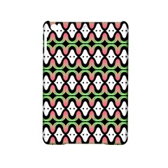 Abstract Pinocchio Journey Nose Booger Pattern iPad Mini 2 Hardshell Cases