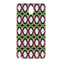 Abstract Pinocchio Journey Nose Booger Pattern Samsung Galaxy Note 3 N9005 Hardshell Back Case