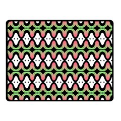 Abstract Pinocchio Journey Nose Booger Pattern Double Sided Fleece Blanket (Small)