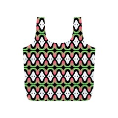 Abstract Pinocchio Journey Nose Booger Pattern Full Print Recycle Bags (s)